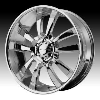 20 inch kmc chrome wheel rims 5x150 toyota tundra sequoia lexus lx 470