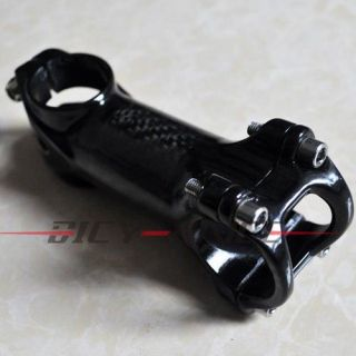 Cycling bicycle bike Carbon Fiber + Aluminum Alloy Handlebar Stem 90mm