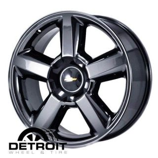 AVALANCHE,SILV​ERADO,TAHOE 2007 2011 PVD Black Chrome Wheels Rims