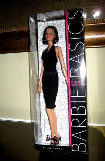 BARBIE BASICS BLACK LABEL MODEL #11 COLL. 001 * NEW IN BOX* DOLL