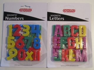 Magnetic numbers and Letters/alphabet for kids! TOYS