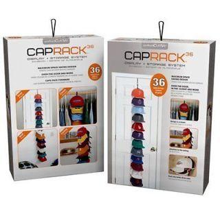 PerfectCurve CapRack 36 Baseball Cap Baseball Hat Holder Rack