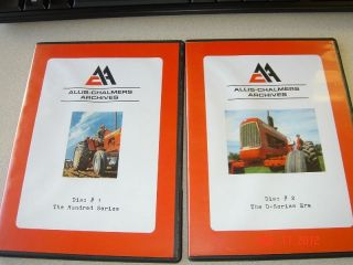 Allis Chalmers DVD Hundred series D Series dvd allis chalmers D17
