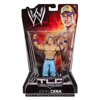 WWE TLC Tables Ladders Chairs PPV John Cena by Mattel