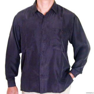 mens silk shirts in Casual Shirts