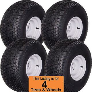 00 8 Golf Cart Tires Wheels Rims fits EZGO Club Car Yamaha Harley more