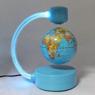 Magnetic Levitation Floating WORLD Globe Desk Light