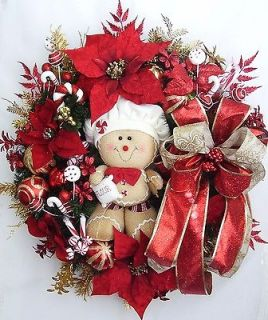 Fall, Autumn,Thanksgiving,Christmas Holiday Gingerbread Boy Flower