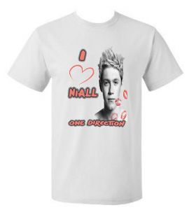 Love Niall Horan Short or Long Sleeve Tee T shirt Teen One Direction