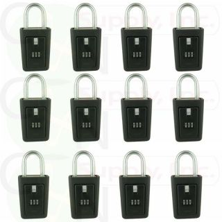 12 lockboxes realtor key lock box real estate 3 letter