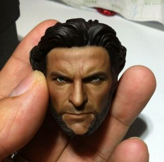 Hugh Jackman 1/6 Figure Head Sculpt @ Hot Toys Wolverine X Men