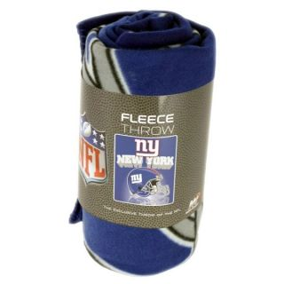 New York Giants fleece blanket throw NEW