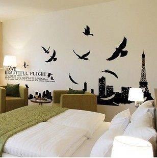 living room wall decor in Decals, Stickers & Vinyl Art