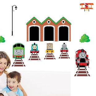 the Tank Engine Kids Wall Stickers Nursery Decals Kids Room Decor