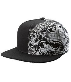 METAL MULISHA   STRUGGLE Hat (NEW w/ FREE SHIP) FLEXFIT Black Cap
