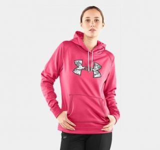 Womens Pink Camo Hoodies