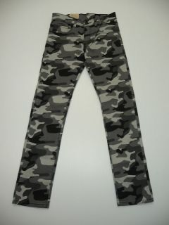 14(27X27) or 16(28X28) 510 Super Skinny Black & Gray Camo Jeans NWT
