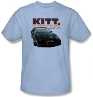 Kid Youth SIZE Knight Rider KITT Smart Car TV Show T shirt top tee