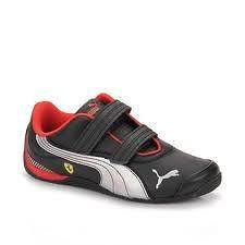 Ferrari Drift Cat iii Boys Toddler Leather Kids Shoes Sneakers 11.5