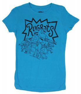 Rugrats Sheer Junior Womens T shirt