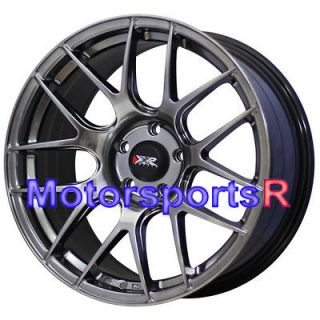 XXR 530 Chromium Black Concave Wheels Rims 08 Acura TL Type S 09 TSX