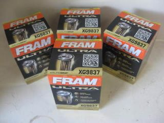 Fram XG9837 Ultra Guard Synthetic Oil Filter Lot(4 FOUR) 15K