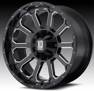 KMC XD806 BOMB RIMS W/ 33X12.50X20 TOYO OPEN COUNTRY MT TIRES WHEELS
