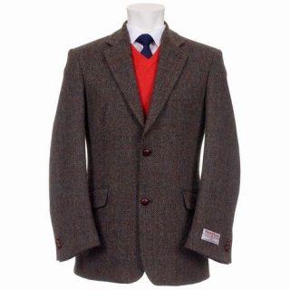 Mens Finlay Harris Tweed Jacket with Harris Tweed Certified Linings