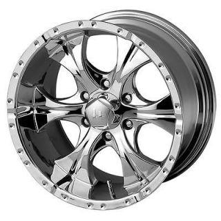 Helo Wheel Aluminum Chrome 16x10 6x139.7mm 6x5.5 BC 4.520
