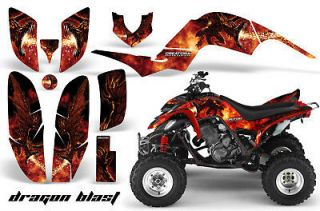 YAMAHA RAPTOR 700/660/350/250 GRAPHICS KIT DECALS STICKERS DRAGONBLAST
