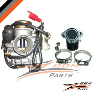 32mm Racing Carburetor Intake Manifold GY6 150cc GoKart