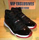 NIKE AIR JORDAN RETRO 11 BRED BLACK RED 2012 BRAND NEW PRE ORDER SIZE