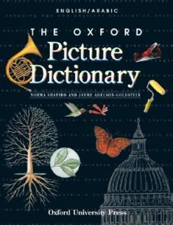 The Oxford Picture Dictionary English Arabic by Jayme Adelson