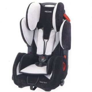 Recaro Young Sport   Black Skyblue Youth Car Seat