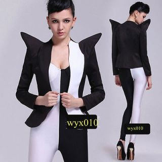 SEXY Lady Gaga Style Bodysuit+Short Jacket Dance Costume 2PCS Free