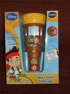 BNIB Disney Jake and The Neverland Pirates Vtech Spy & Learn Telescope