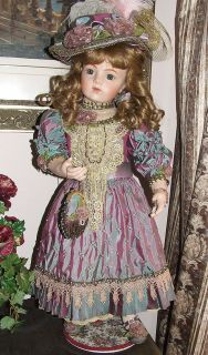 PATRICIA LOVELESS 30 ANTIQUE REPRODUCTION BRU JNE 15 BISQUE SILK