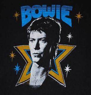 david bowie tour shirt in Clothing,