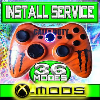 XBOX 360 RAPID FIRE CONTROLLER   COD MOD WAW MW2   Send in YOUR