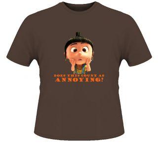 Agnes Despicable Me Kids Childrens Movie T Shirt
