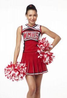 Ladies Season 1 GLEE Cheerleader Costume sz 10/12 BARGAIN FACTORY