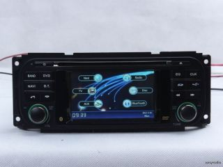 Jeep Grand Cherokee In Dash Car DVD Player GPS Radio