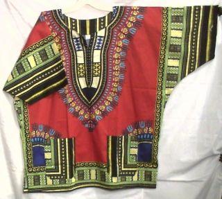 African Men Women Dashiki Shirt Blouse White Yellow NotCome S M L XL