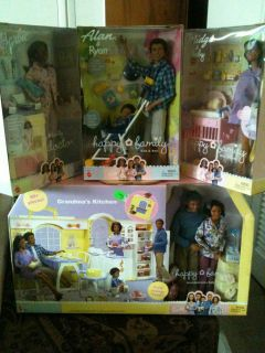 Happy Family Barbie lot AA Grandparents, Kitchen, Alan, Doctor, Midge