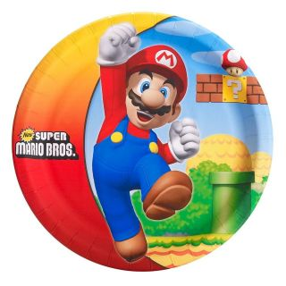 Super Mario Bros. Party Supplies & Tableware   You Pick