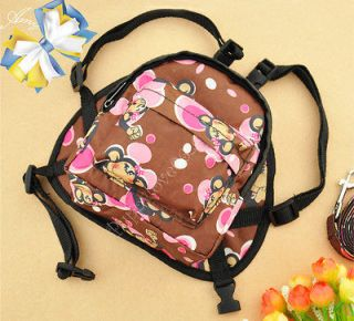 Cool Carton Monkey Puppy Dog Cat Pet Carrier Bag Traction Rope Package
