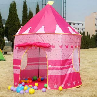 kids Play tents castle house princess palace children cubby toy