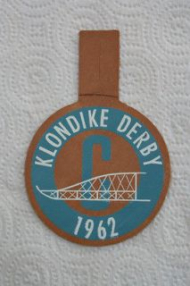 Boy Scouts Klondike Derby 1962 Snow Dog Sled Patch Badge with Tab