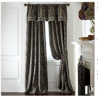 chris madden drapes in Curtains, Drapes & Valances