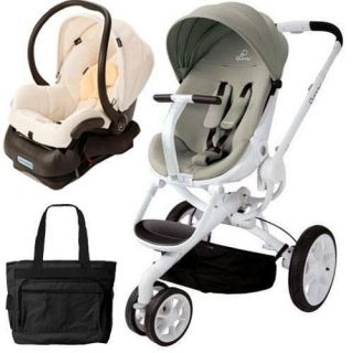 Quinny Moodd Stroller Travel system w/diaper bag and car seat
